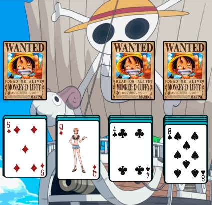 One Piece Solitaire